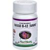 Vitamins OTC Meds Vitamin B: Maxi Health Kosher Vitamins - Maxi B12 5000 - Chewable - 60 Tablets