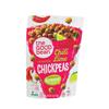 Crispy Crunchy Chickpea Snacks - Smoky Chili and Lime - Case of 6 - 6 oz..