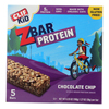 Clif Kid Zbar Organic Kid Zbar Protein - Chocolate Chip - Case of 6 - 1.27 oz.. HGR 1511674