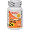 Deva Vegan Vitamins Vitamin D - 2400 IU - 90 Tablets HGR0151472