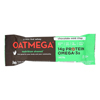 Oatmegabar Protein Bar - Dark Chocolate Mint Crisp - 1.8 oz.. Bars - Case of 12 HGR 1517507