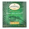 Twinings Tea Breakfast Tea - Irish Black - Case of 6 - 50 Bags HGR 1518885