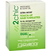 Clean and Green: Giovanni Hair Care Products - Touch Up Hair Towelette - 2Chic Ultra Moist - 10 ct