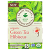 Traditional Medicinals Tea - Organic - Green Tea - Hibiscs - 16 ct - 1 Case HGR 1522176