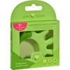 Oral Care Childrens: Green Sprouts - Teether - Cornstarch - Hand - Green - 1 Count