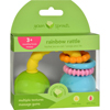 Green Sprouts Rattle - Rainbow - Unisex - 3 Months - 1 Count HGR 1529312