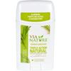 hgr: Via Nature - Deodorant - Stick - Rosemary Sandalwood - 2.25 oz