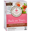 Tea - Back on Tract - Hbscs Crnbrry - 16 ct - 1 Case