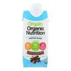 Orgain Organic Vegan Nutritional Shakes - Smooth Chocolate - Case of 12 - 11 Fl oz.. HGR 1535756