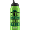 Sigg Water Bottle - Cuipo Be The Solution Not The Cause - 1 Liter - Case of 6 HGR 1548825