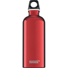 Clean and Green: Sigg - Water Bottle - Traveller - Red - Case of 6 - .6 Liter