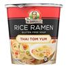 Dr. Mcdougall's Thai Tom Yum Asian Soup Cup - Case of 6 - 1.2 oz.. HGR 1561372