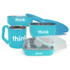 Thinkbaby Feeding Set - BPA Free - The Complete - Light Blue - 1 Set HGR 1564061