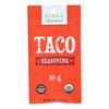 Riega Foods Seasoning - Organic - Taco - No. 4 - .9 oz.. - case of 8 HGR 1564475