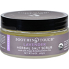 Soothing Touch Scrub - Organic - Salt - Herbal - Lavender - 10 oz HGR 1576172