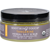 Soothing Touch Scrub - Organic - Salt - Herbal - Tangerine - 10 oz HGR 1576214