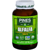 Pines International Alfalfa - Organic - Tablets - 500 Tablets HGR 1580315