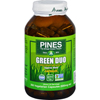 Herbal Homeopathy Herbal Formulas Blends: Pines International - Green Duo - Organic - Capsules - 260 Veg Capsules