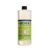 cleaning chemicals, brushes, hand wipers, sponges, squeegees: Mrs. Meyer's - Multi Surface Concentrate - Lemon Verbena - 32 fl oz - Case of 6