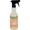 cleaning chemicals, brushes, hand wipers, sponges, squeegees: Mrs. Meyer's - Multi Surface Spray Cleaner - Geranium - 16 fl oz - Case of 6