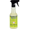 cleaning chemicals, brushes, hand wipers, sponges, squeegees: Mrs. Meyer's - Multi Surface Spray Cleaner - Lemon Verbena - 16 fl oz - Case of 6
