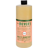 cleaning chemicals, brushes, hand wipers, sponges, squeegees: Mrs. Meyer's - Multi Surface Concentrate - Geranium - 32 fl oz
