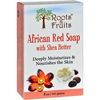 soaps and hand sanitizers: Roots and Fruits - Bar Soap - African Red Soap - Shea Butter - 5 oz