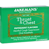 hgr: Jakemans - Lozenge - Throat and Chest - Peppermint - 24 Count - 1 Case