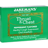 cough drops: Jakemans - Lozenge - Throat and Chest - Peppermint - 24 Count