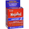 Schiff Vitamins Joint Care - MegaRed - 30 Softgels HGR 1611508