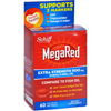 Schiff Vitamins Omega 3 Krill Oil - MegaRed - Extra Str - 500 mg - 60 Softgels HGR 1611557