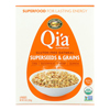 Nature's Path Organic QiA Superfood Hot Oatmeal - Superseeds and Grains - Case of 6 - 8 oz.. HGR 1612241
