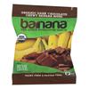 Barnana Organic Chewy Banana Bites - Chocolate - Case of 12 - 1.4 oz. HGR 1613892