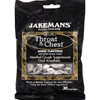hgr: Jakemans - Lozenge - Throat and Chest - Licorice - 30 Count