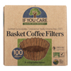 If You Care Coffee Filters - Basket - Case of 12 - 100 Count HGR 1618834
