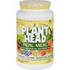 Nutritionals Supplements Protein Supplements: Genceutic Naturals - Plant Head Real Meal - Vanilla - 2.3 lb