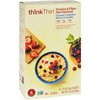 Think Products Oatmeal - Protein and Fiber Hot - thinkThin - Farmers Market Berry Crumble - Box - 10.6 oz - Case of 12 HGR 1632728