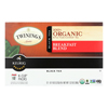 Twinings K-Cup Pods - Organic - Tea - Breakfast Blend - 12 Count - Case of 6 HGR 1634187