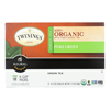 Twinings K-Cup Pods - Organic - Tea - Pure Green - 12 Count - Case of 6 HGR 1634203