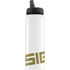 hgr: Sigg - Water Bottle - Active Top - Gold - .75 Liter