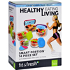 Fit and Fresh Container Set - Healthy Living - Smart Portion - 14 Pieces - 1 Set HGR 1636513