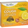 cough drops: Herbion Naturals - Cough Drops - All Natural - Honey Lemon - 18 Drops