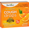 hgr: Herbion Naturals - Cough Drops - All Natural - Orange - 18 Drops