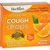 Herbion Naturals Cough Drops - All Natural - Orange - 18 Drops HGR 1640036