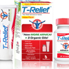 T-Relief Pain Relief Ointment and Tablets - Arnica plus 12 Natural Ingredients - Value Pack - 1 Pack HGR 1641265