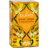 Pukka Herbs Herbal Teas Tea - Organic - Lemon Ginger and Manuka Honey - 20 Bags - Case of 6 HGR 1642008