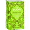 Pukka Herbs Herbal Teas Tea - Organic - Three Mint - 20 Bags - Case of 6 HGR 1642024