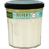 Clean and Green: Mrs. Meyer's - Soy Candle - Basil - 7.2 oz
