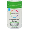 Rainbow Light Complete Iron Mini-Tabs - 60 Tablets HGR 0164400