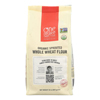 One Degree Organic Foods Sprouted Flour - Whole Wheat - Case of 6 - 32 oz.. HGR 1644616